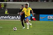 Brazil midfielder Allan (15) during an international friendly soccer match, Tuesday, Sept. 10, 2019, in Los Angeles. Peru defeated Brazil 1-0.