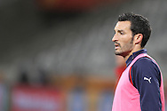 CAPE TOWN, SOUTH AFRICA - 13 JUNE 2010, Gianluca Zambrotta of Italy during Italy's training session held at the Cape Town Stadium. Italy play Paraguay in Match 11 of the 2010 FIFA World Cup on Monday 14 June 2010. Photo by: Shaun Roy/Sportzpics