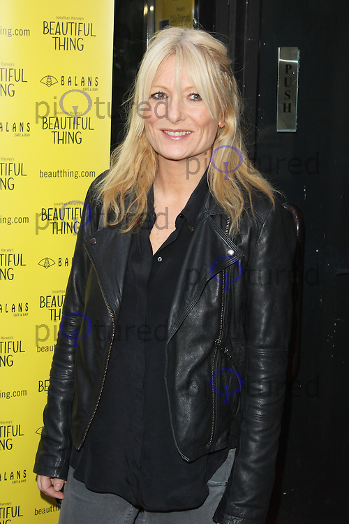 LONDON - April 17: Gaby Roslin at the Beautiful Thing - Press Night (Photo by Brett D. Cove)