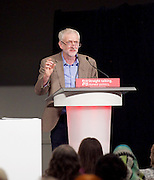 Jeremy Corbyn MP <br /> speech to the Labour Women's Conference, Brighton, Great Britain <br /> 26th September 2015 <br /> <br /> <br /> Jeremy Corbyn <br /> <br /> <br /> Photograph by Elliott Franks <br /> Image licensed to Elliott Franks Photography Services