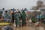 Stucked refugees in Idomeni, 10.03.16
