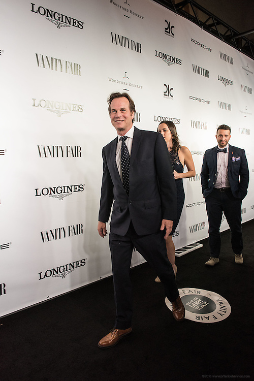 Actor Bill Paxton is seen on the black carpet at the Vanity Fair Derby party at 21c Museum Hotel. May 6, 2016
