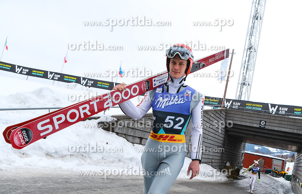 13.03.2017, Lysgards Schanze, Lillehammer, NOR, FIS Weltcup Ski Sprung, Raw Air, Lillehammer, im Bild Stephan Leyhe (GER) // Stephan Leyhe of Germany // during the 2nd Stage of the Raw Air Series of FIS Ski Jumping World Cup at the Lysgards Schanze in Lillehammer, Norway on 2017/03/13. EXPA Pictures © 2017, PhotoCredit: EXPA/ Tadeusz Mieczynski