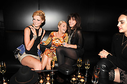 Left to right, MISCHA BARTON,  JAIME WINSTONEand DAISY LOWE at a party to celebrate the launch of Bang a new male fragrance by Marc Jacobs held at the Fith Floor Restaurant, Harvey Nichols, Knightsbridge, London on 22nd July 2010.
