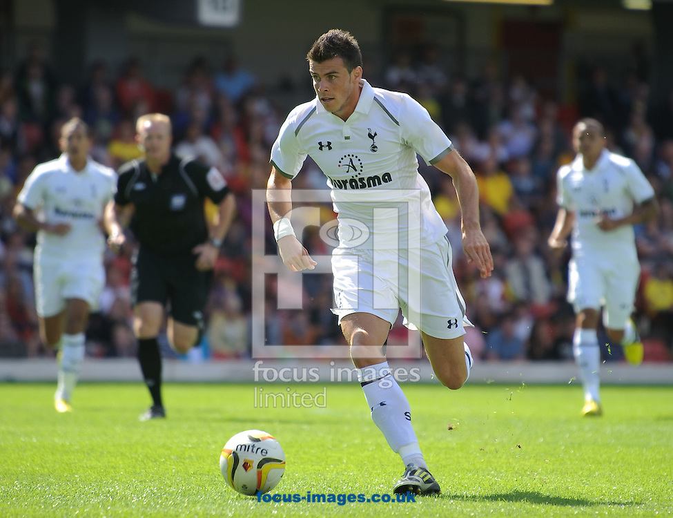 Picture by Gerald O'Rourke/Focus Images Ltd +44 7500 165179.05/08/2012. Gareth Bale of Tottenham Hotspur during the Friendly match at Vicarage Road, Watford.