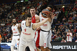 November 17, 2017 - Milan, Milan, Italy - Luka Mitrovic (#9 Brose Bamberg) during a game of Turkish Airlines EuroLeague basketball between  AX Armani Exchange Milan vs Brose Bamberg at Mediolanum Forum, on November 17, 2017 in Milan, Italy. (Credit Image: © Roberto Finizio/NurPhoto via ZUMA Press)