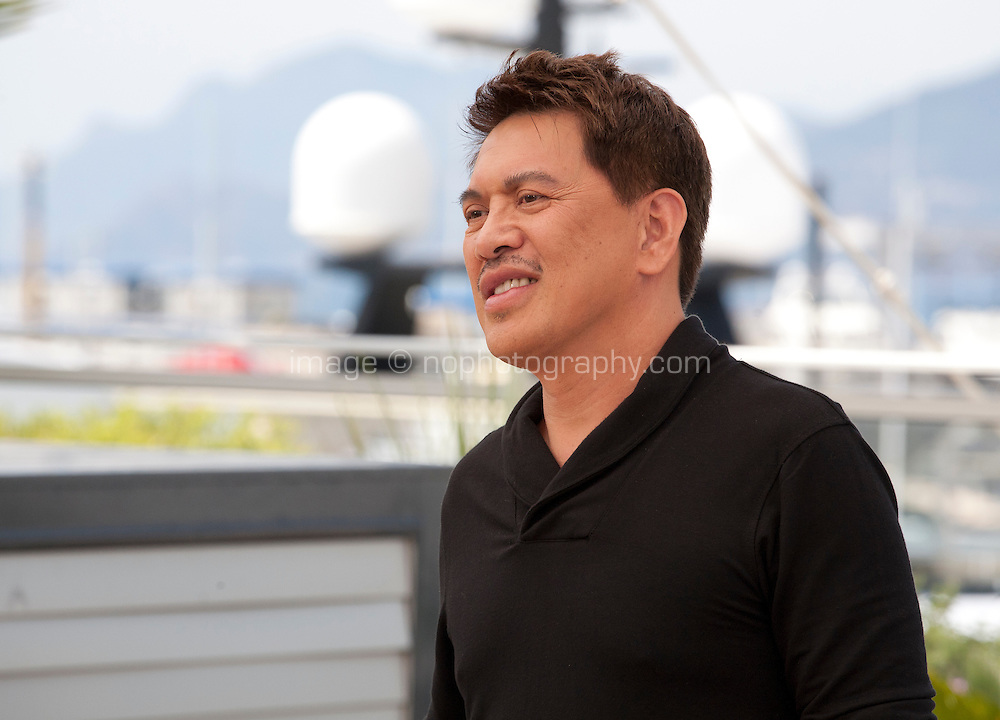 Director Brillante Mendoza at the Ma'rosa film photo call at the 69th Cannes Film Festival Wednesday 18th May 2016, Cannes, France. Photography: Doreen Kennedy