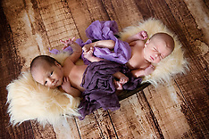 8 Day old Twins Jessica and Billy make their debut! xxx