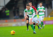 Yeovil Town's Jack Compton during the Sky Bet League 2 match between Yeovil Town and Oxford United at Huish Park, Yeovil, England on 28 December 2015. Photo by Graham Hunt.