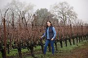 Laura Díaz Muñoz, winemaker, Elhers winery & estate vineyard, Napa, California