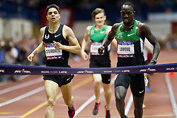 Millrose Games indoor track and field: Matthew Centrowitz, 5000 m, Lopez Lomong,