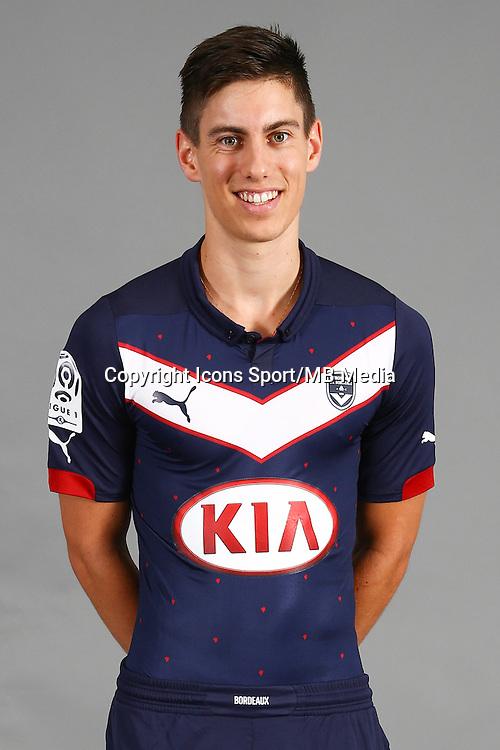 Theo Pellenard - 04.10.2014 - Portrait Officiel - Bordeaux<br /> Photo : Lelann / Icon Sport