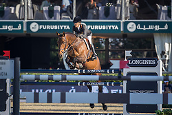 Amilibia Paola (ESP) - Prunella D'Ariel<br /> Final First Competition<br /> Furusiyya FEI Nations Cup™ Final - Barcelona 2014<br /> © Dirk Caremans<br /> 09/10/14