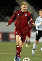 Fotball Royal League 10.12.06, Rosenborg - Odense 0-1<br /> Ulrik Laursen, Odense<br /> Foto: Carl-Erik Eriksson, Digitalsport