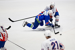 during friendly Ice Hockey match between National teams of Slovenia and Croatia, on April 8, 2018 in Celje, Slovenia. Photo by Urban Urbanc / Sportida
