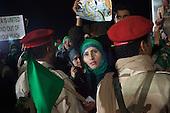 Tripoli-Volunteer Human Shields at Bab Al Zizia