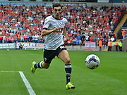 Tom Walker during the Sky Bet Championship match between Bolton Wanderers and Nottingham Forest at the Macron Stadium, Bolton, England on 22 August 2015. Photo by Mark Pollitt.