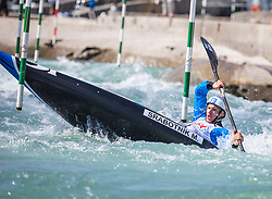 Srabotnik Martin (KKK Nivo Celje / Slovenia) during ICF Canoe Slalom Ranking Race Tacen 2018, on April 8, 2018 in Ljubljana, Slovenia. Photo by Urban Meglic / Sportida