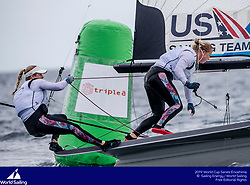From 9 to 16 September 2018, the Tokyo 2020 Olympic Sailing Competition venue in Enoshima, Japan, will host sailors for the first event of the 2019 World Cup Series. More than 450 sailors from 45 nations will race in the 10 Olympic events.  &copy;JESUS RENEDO/SAILING ENERGY/ WORLD SAILING<br /> 11 September, 2018.