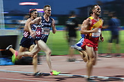 Felix Bour (FRA) competes on Men's 5000 m final during the Jeux Mediterraneens 2018, in Tarragona, Spain, Day 6, on June 27, 2018 - Photo Stephane Kempinaire / KMSP / ProSportsImages / DPPI