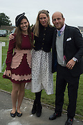GEORGINA CRISFORD; EMILY LOPES; CARLO CARELLO, Sam Sangster, Carlo Carello and Christian Hamilton host a preview of Aspall's 1728 Fine Sparkling Cyder. Ladies Day, Epsom Downs.  A pop-up bar in No 1 car-park and lunch in a Box in the grandstand. . 3 June 2016