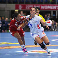 Puerto Rico - Norway, 2015 IHF WOMEN HANDBALL WORLD CHAMPIONSHIP