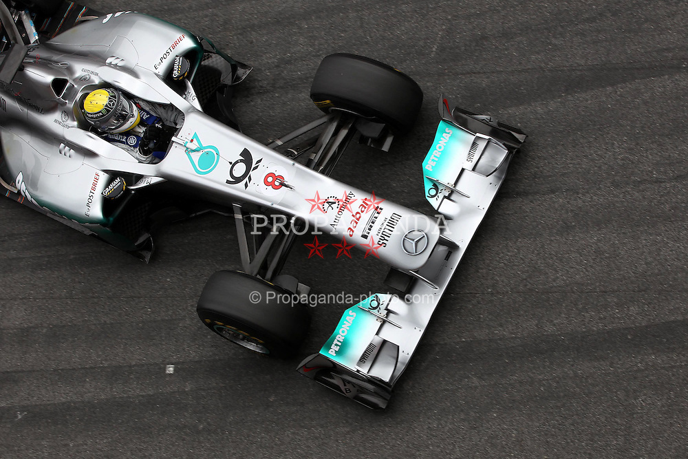 09.03.2011, Circuit de Catalunya, Barcelona, ESP, Formel 1 Test 4 2011,Nico Rosberg (GER), Mercedes GP EXPA Pictures © 2011, PhotoCredit: EXPA/ nph/  Poleposition.at ******* only for AUT, SLO *********
