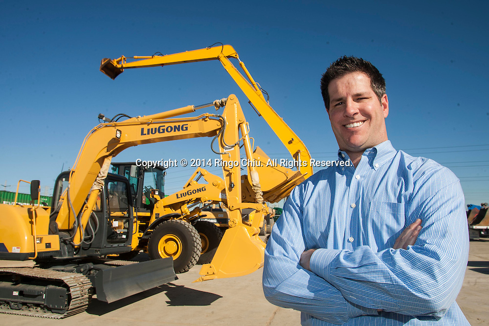 Michael Lalonde, president of Westrax Machinery.<br /> (Photo by Ringo Chiu/PHOTOFORMULA.com)