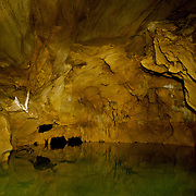 The 9th and final accessible chamber of the Mae Us A cave in Tak, Thailand