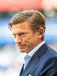 July 7, 2018 - Samara, Russia - 180707 Jesper Blomqvist of Sweden, invited as a FIFA Legend, during the FIFA World Cup quarter final match between Sweden and England on July 7, 2018 in Samara..Photo: Petter Arvidson / BILDBYRÃ…N / kod PA / 92083 (Credit Image: © Petter Arvidson/Bildbyran via ZUMA Press)