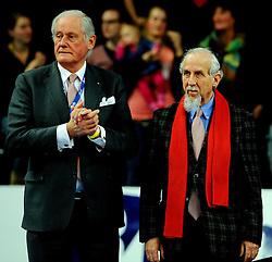 17-02-2013 VOLLEYBAL: CUP FINAL FIRMX ORION - DRAISMA DYNAMO: ZWOLLE<br /> Orion van de beker door Dynamo met 3-0 te verslaan / Hans Nieukerke en Jan Kroon<br /> &copy;2013-WWW.FOTOHOOGENDOORN.NL