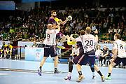 DESCRIZIONE : HandbaLL Cup Finale EHF Homme<br /> GIOCATORE : Maqueda Jorge<br /> SQUADRA : Nantes <br /> EVENTO : Coupe EHF Demi Finale<br /> GARA : NANTES HOLSTEBRO<br /> DATA : 18 05 2013<br /> CATEGORIA : Handball Homme<br /> SPORT : Handball<br /> AUTORE : JF Molliere <br /> Galleria : France Hand 2012-2013 Action<br /> Fotonotizia : HandbaLL Cup Finale EHF Homme<br /> Predefinita :