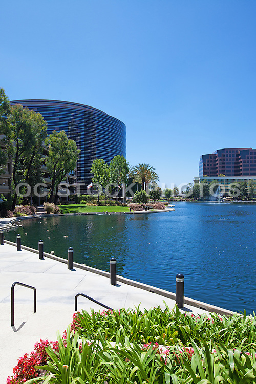 Lakeside Tower at MacArthur Place Surrounded by Lake Hutton