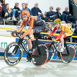 22-12-2019: Wielrennen: NK Baan Omnium: Apeldoorn<br />Jan Willem van Schip, Yoeri Havik