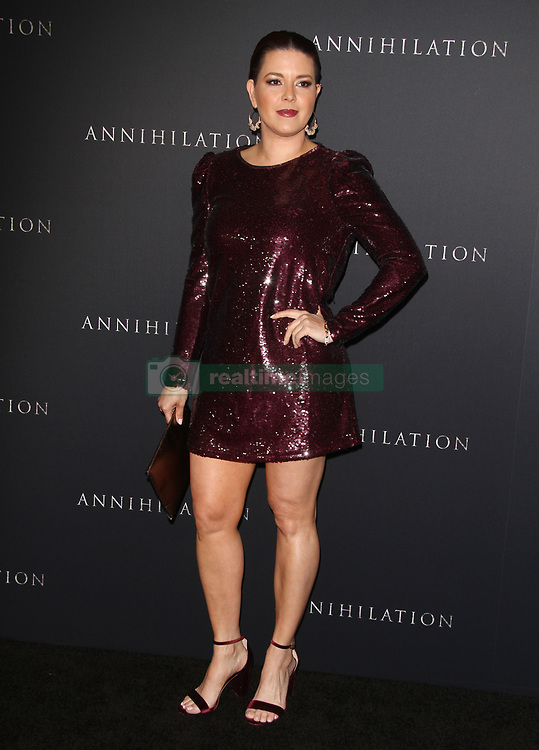Annihilation Los Angeles Premiere at The Regency Village Theatre in Westwood, California on 2/13/18. 13 Feb 2018 Pictured: Alicia Machado. Photo credit: River / MEGA TheMegaAgency.com +1 888 505 6342