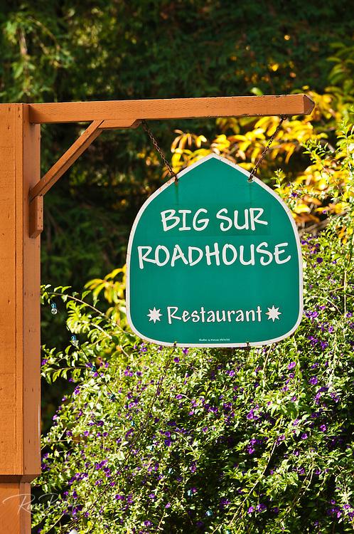 Big Sur Roadhouse restaurant, Big Sur, California