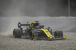 February 19, 2019 - Barcelona, Spain - RICCIARDO Daniel (aus), Renault Sport F1 Team RS19, action crash during Formula 1 winter tests from February 18 to 21, 2019 at Barcelona, Spain - : FIA Formula One World Championship 2019, Test in Barcelona, (Credit Image: © Hoch Zwei via ZUMA Wire)