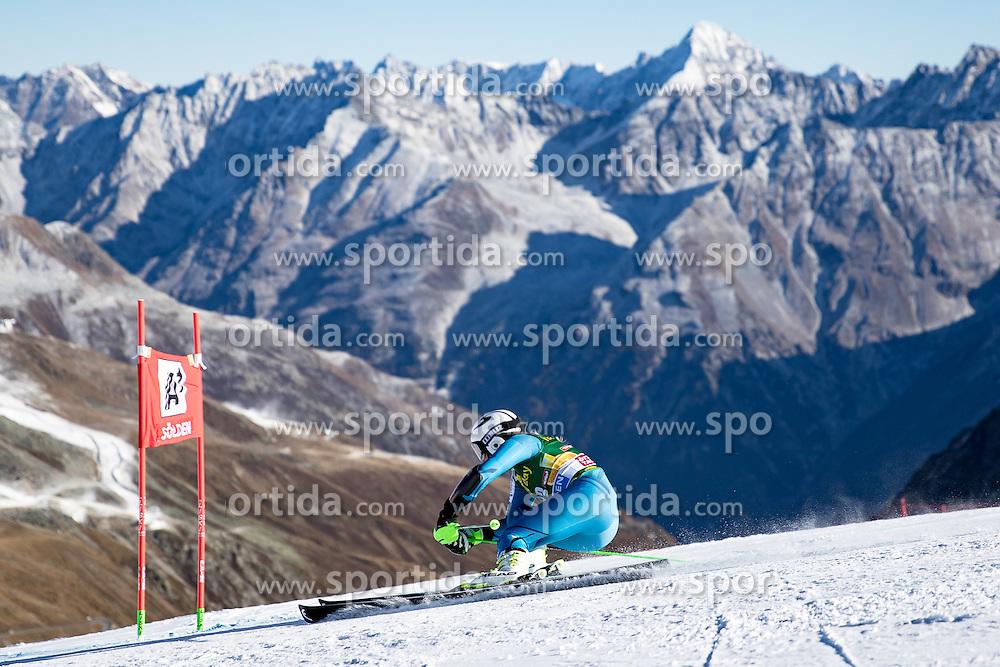 22.10.2016, Rettenbachferner, Soelden, AUT, FIS Weltcup Ski Alpin, Soelden, Riesenslalom, Damen, 1. Durchgang, im Bild Ragnhild Mowinckel (NOR) // Ragnhild Mowinckel of Norway in action during 1st run of ladies Giant Slalom of the FIS Ski Alpine Worldcup opening at the Rettenbachferner in Soelden, Austria on 2016/10/22. EXPA Pictures © 2016, PhotoCredit: EXPA/ Johann Groder