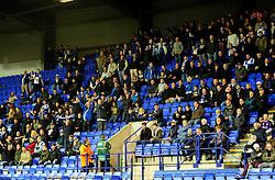 Bristol Rovers fans - Photo mandatory by-line: Neil Brookman/JMP - Mobile: 07966 386802 - 08/11/2014 - SPORT - Football - Birkenhead - Prenton Park - Tranmere Rovers v Bristol Rovers - FA Cup - Round One