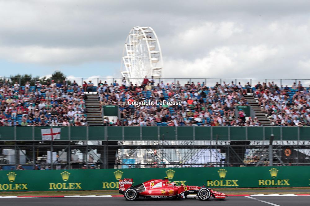 &copy; Photo4 / LaPresse<br /> 04/07/2015 Silverstone, England<br /> Sport <br /> Grand Prix Formula One England 2015<br /> In the pic: Kimi Raikkonen (FIN) Scuderia Ferrari SF15-T