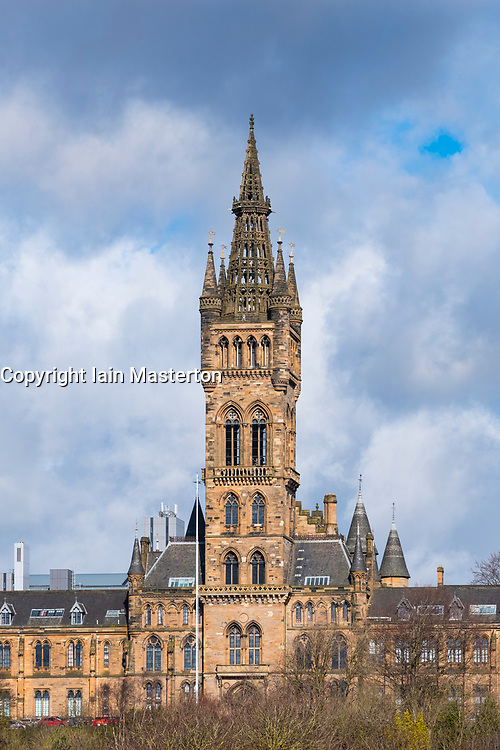 View of  Glasgow University , Scotland, United Kingdom