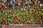 Crowd scenes of Ghanian supporters. Ghana V Morocco. African Cup of Nations 2008. Ohene Djan Stadium. Accra. Ghana. West Africa..28th January 2008..©Picture Zute Lightfoot.  07939 108077. www.lightfootphoto.co.uk