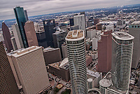 Downtown Houston featuring former Enron Towers