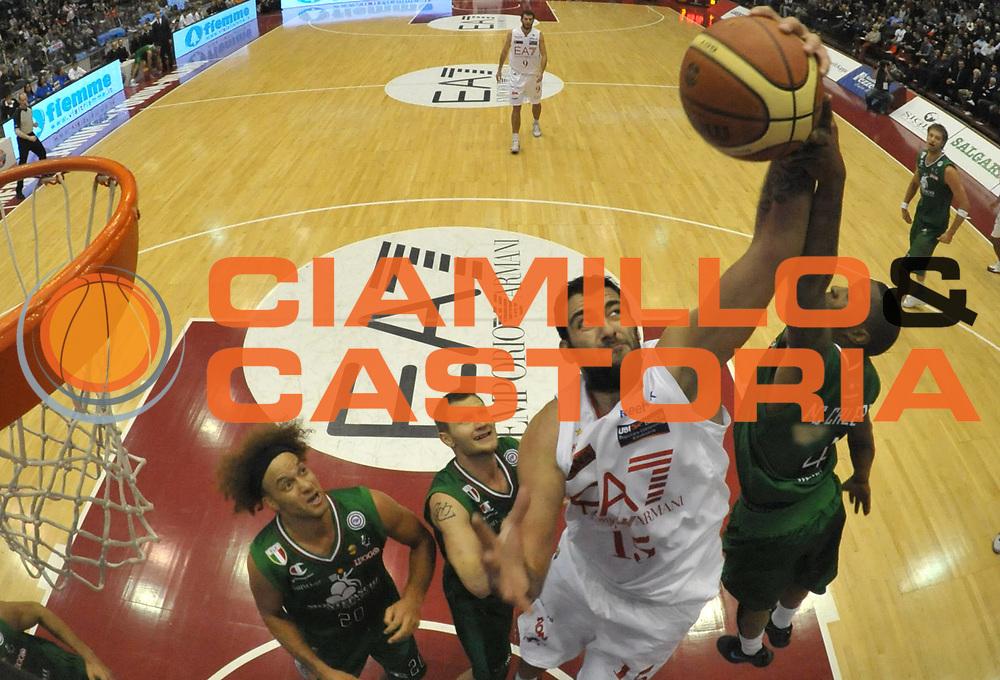 DESCRIZIONE : Milano Lega A 2010-11 EA7 Emporio Armani Milano Montepaschi Siena<br /> GIOCATORE : Ioannis Bourousis<br /> SQUADRA : EA7 Emporio Armani<br /> EVENTO : Campionato Lega A 2011-2012 <br /> GARA : EA7 Emporio Armani Milano Montepaschi Siena<br /> DATA : 13/11/2011<br /> CATEGORIA : Rimbalzo Special<br /> SPORT : Pallacanestro <br /> AUTORE : Agenzia Ciamillo-Castoria/ L.Goria<br /> Galleria : Lega Basket A 2011-2012  <br /> Fotonotizia : Biella Lega A 2010-11 EA7 Emporio Armani Milano Montepaschi Siena<br /> Predefinita :