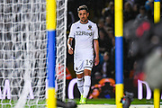 Leeds United midfielder Pablo Hernandez (19) is subbed off during the EFL Sky Bet Championship match between Leeds United and Brentford at Elland Road, Leeds, England on 21 August 2019.