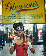 Gleason's Now, whoever has courage and a strong and collected spirit in his breast let him come forward lace on the gloves and put up his hands.