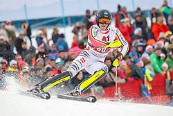 26.01.2020, Streif, Kitzbühel, AUT, FIS Weltcup Ski Alpin, Slalom, Herren, 2. Lauf, im Bild Julian Rauchfuss (GER) // Julian Rauchfuss of Germany in action during his 2nd run in the men's Slalom of FIS Ski Alpine World Cup at the Streif in Kitzbühel, Austria on 2020/01/26. EXPA Pictures © 2020, PhotoCredit: EXPA/ Johann Groder