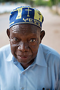 Dar es Salaam, Tanzania -   2014-11-07  - One of my neighbours wearing a kofia on his way to the Kanisa Katoliki (Catholic church) in Upanga Dar es Salaam, Tanzania on November 7, 2014.   Photo by Daniel Hayduk