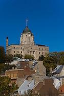 Canada. Quebec. the vieux Quebec, old Quebec city center, Champlain area   / la vielle ville . vieux quebec. quartier CHAMPLAIN