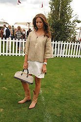 CAROLINE PEARL at the Cartier International polo at Guards Polo Club, Windsor Great Park on 29th July 2007.<br />